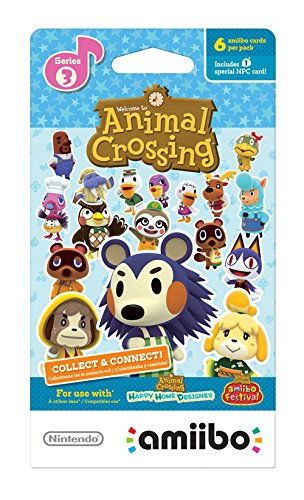 Nintendo Animal Crossing amiibo cards Series 3 (6-Pack) - Nintendo Wii U by Nintendo