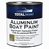 TotalBoat Aluminum Boat Paint for Canoes, Bass Boats, Dinghies, Duck Boats, Jon Boats and Pontoons (Army Green, Quart)