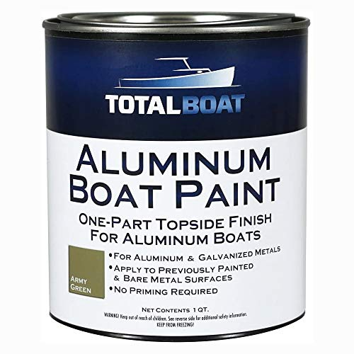 TotalBoat-511784 Aluminum Boat Paint for Canoes, Bass Boats, Dinghies, Duck Boats, Jon Boats and...