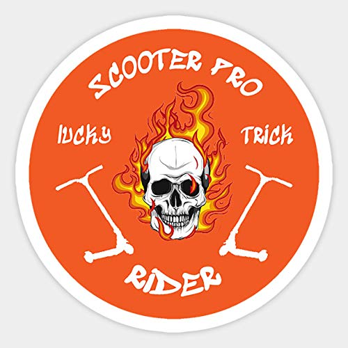 Pro Scooter Rider - Sticker Graphic - Decal Sticker Sticker