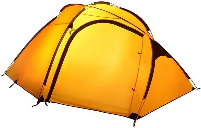 IDWOI-Tente Festival en Plein Air 4-5 Personne Tente avec La Fenêtre du Ciel 4 Saisons étanche Anti-UV Tente De Camping, 2 Couleurs