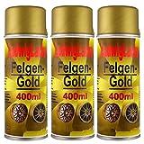 3 Felgengold Spray 400 ml je Spraydose