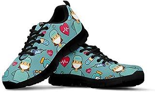 HUGS IDEA Casual Sneaker Scarpe Da Corsa Palestra Bassa Top Lace Up Mesh Scarpa Traspirante