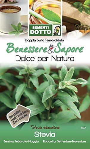 Sdd DT Bn_Stevia Semi, Bianco, 0.02x20.2x12.2 cm