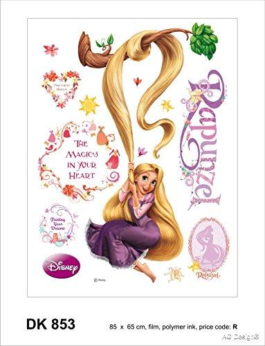 Wand Sticker DK 853 Disney Rapunzel