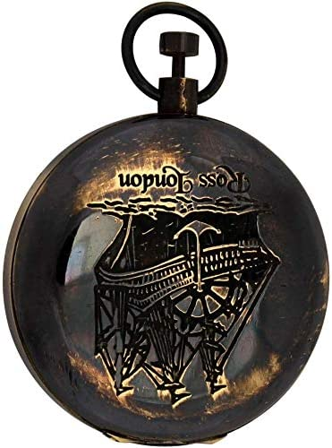 LE Products Antique Brass Over item handling Push Vintage Compass Challenge the lowest price P Maritime Button