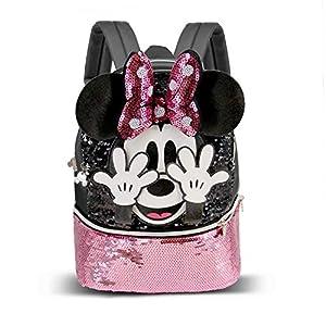 51oc7APWiYL. SS300  - Minnie Mouse Shy-Mochila Bouquet