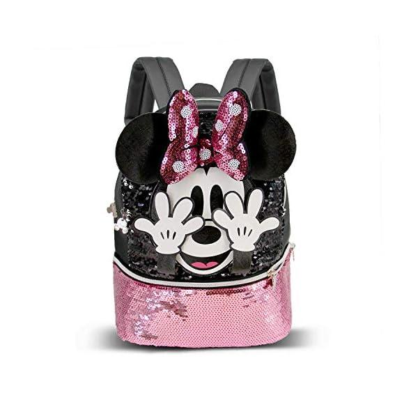 51oc7APWiYL. SS600  - Minnie Mouse Shy-Mochila Bouquet