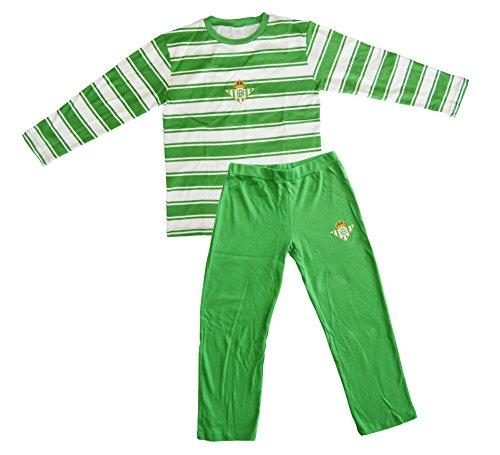 Real Betis Balompié Pijbet Pijama, Infantil, Multicolor (