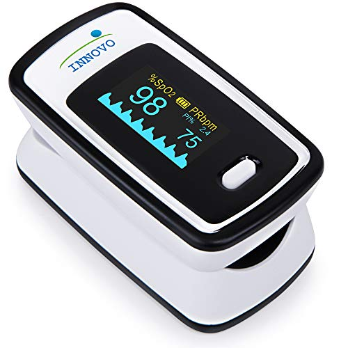Innovo Fingertip Pulse Oximeter with Plethysmograph &...