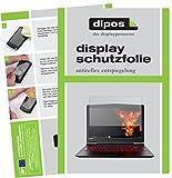 dipos I 2X Schutzfolie matt kompatibel mit Lenovo Legion Y520 Folie Bildschirmschutzfolie