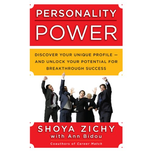 Personality Power audiobook cover art