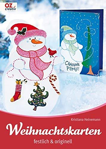 Weihnachtskarten festlich & originell