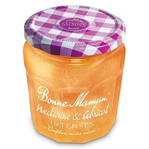 Bonne Maman Intenses Confiture Nectarine et Abricot, 335g
