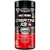 Best Creatine Pills - Six Star Elite Series Creatine X3 Micronized Creatine Review