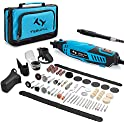 145-Pieces Tilswall 160W Rotary Tool Kit with Electric Drill Set