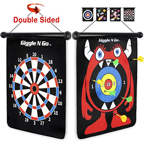 GIGGLE N GO Magnetic Darts - Very Popular Gifts for Boys and Girls Toys for Age 5 and Above -...