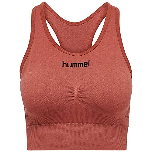 Hummel First Seamless Sport-BH Bra Damen Rot F3250