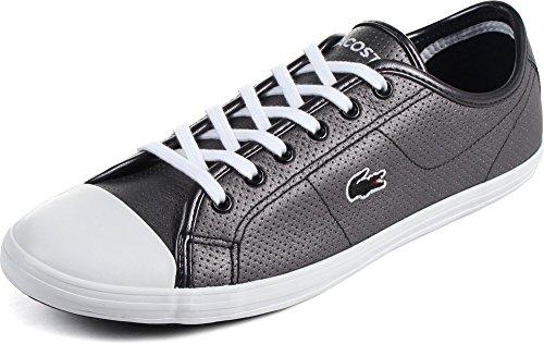 Lacoste - Womens Ziane Sneaker Shoes, Size: 10 B(M) US, Color: Black