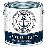 Metallschutzlack MATT Signalschwarz RAL 9004 Schwarz Metallschutzfarbe Metalllack Metallfarbe