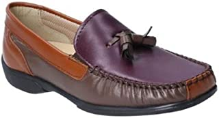 Cotswold Womens/Ladies Biddlestone Leather Slip On Loafer Shoe