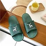ypyrhh Chanclas informales para hombre, par de zapatillas de interior, sandalias de dibujos animados de moda, Ink_38/39, zapatos de casa para piscina