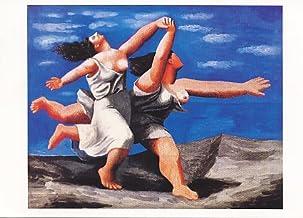 Ediciones BLOK Pablo Picasso. 31 x 44 cms Láminas de Arte. Dos Mujeres Corriendo por la Playa,