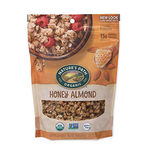 Nature's Path, Organic & Gluten Free Granola, Honey Almond, 11 Oz