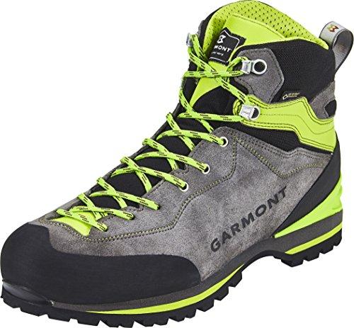GARMONT M Ascent GTX Grau-Rot, Herren Gore-Tex Wanderschuh, Größe EU 45 - Farbe Grey - Red