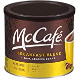 McCafe Breakfast Blend Ground Coffee (30 oz Canister) - PACK OF 4