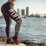 BYOGAZT Yoga para Mujer Jogger Entrenamiento Deportivo Gimnasio Fitness Leggings Pantalones de Yoga Mono Leggings atléticos Running Gym Scrunch Pantalones S Gris Oscuro