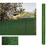 Rollo de Malla de sombreado Verde 1,5 x10 Metros
