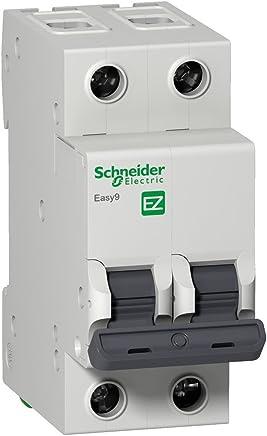 Disjuntor Easy9 2p 32a Curva C - 3000a Easy9 Schneider Electric Branco