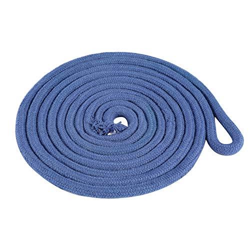 Samfox Gymnastics Rope, Rhythmic Gymnastics Arts Rope Trainingsseil für Erwachsene oder Kinder(Blau)