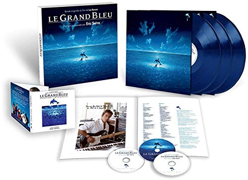 Album Art for Le Grand Bleu (The Big Blue) (Original Soundtrack) [3LP/2CD/2DVD Boxset] by ERIC SERRA