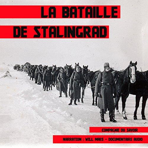 La bataille de Stalingrad audiobook cover art