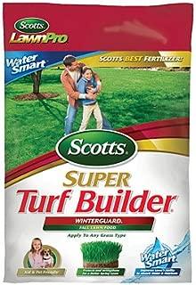 Scotts Lawns 21806 Scotts, 5000 SQFT Coverage, 27-0-12, Super Turf Builder Winterguard