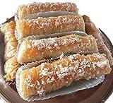 Patisserie ✪ 10 deliciosos cigarrillos con almendras y nueces frescas garantizadas después de su pedido ✪ Tarta Baklawa con miel perfumado: canela + flor de naranja. Té café Dolce Gusto.