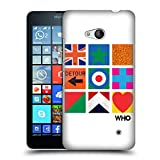 Head Case Designs Offizielle The Who Symbolen Gitter 2019 Album Harte Rueckseiten Huelle kompatibel mit Microsoft Lumia 640 / Dual SIM