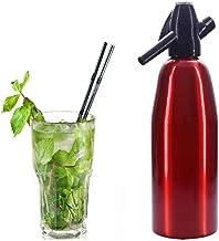 Maker Soda, Portable Seltzer Bouteille Mousseux Maison Eau Gazéifiée Boissons Machine,Rouge