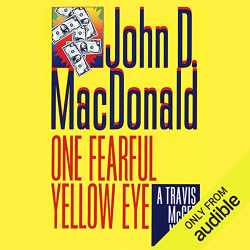 One Fearful Yellow Eye audiobook cover art