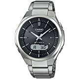 [カシオ] 腕時計 リニエージ 電波ソーラー LCW-M500TD-1AJF シルバー