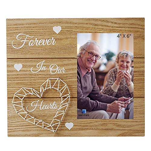 Memorial Picture Frame – In Loving Memory Photo Frame - Sympathy Gift for the Loss of Loved One –Grandpa and Grandma Picture Frame - Pet Memorial Gift – Bereavement Gift – Condolence Gift
