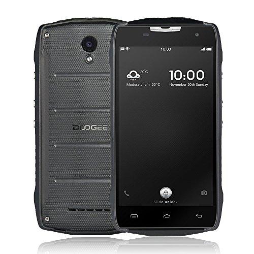 "DOOGEE T5S Tri-Proof Smartphone Android 6.0 4G 5"" IP67 Impermeabile ( MTK6735 Quad Core 1.3GHz 64bit 2GB RAM+16GB ROM, Dual Camaras 5MP+8MP, 4500mAh OTG Smart Gestures )"