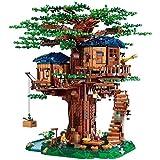 Bloques de construcción En Existencia 3036pcs Nueva Casa Del Árbol El Modelo De Árbol Más Grande Bloques De Construcción Ideas Compatibles Ladrillos Juguetes Educativos De Bricolaje Para Niños