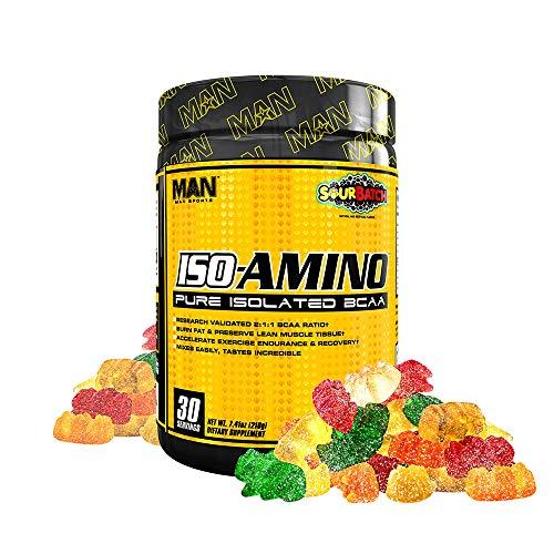 Man Sports Iso Amino Pure Isolated BCAA