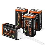 Rechargeable 9 Volt Batteries