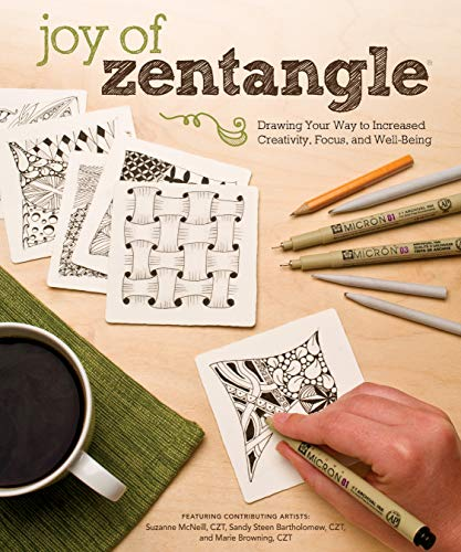 Price comparison product image Joy of Zentangle: Drawing Your Way to Increased Creativity,  Focus,  and Well-Being (Design Originals) Instructions for 101 Tangle Patterns from CZTs Suzanne McNeill,  Sandy Steen Bartholomew,  & More