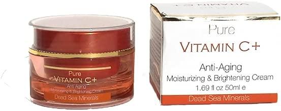 Pure Vitamin C+ Anti Aging Moisturizing & Brightening Cream 1.69 oz by Spa Cosmetics