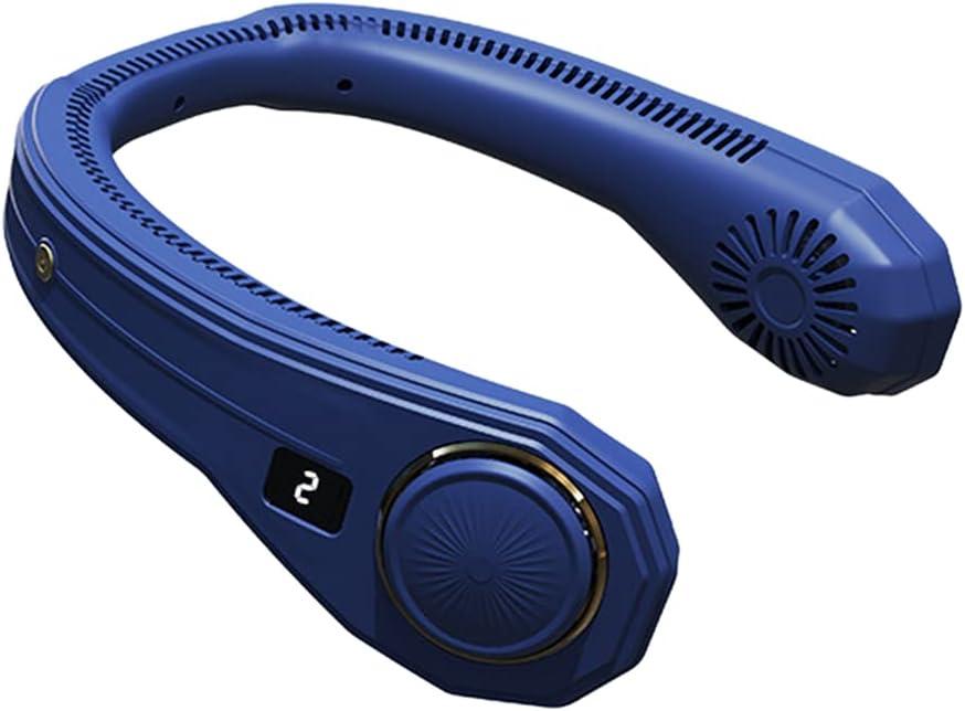 half YEZININHAO neck fan - Portable Personal Recha Fan Award Hands-Free USB